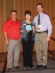 Jerry Cipriano, ASA Executive Director, Debra Duvall, and Bill Munch