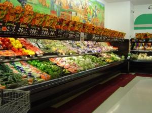 veggies in store