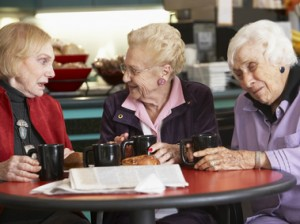 Image result for images old people drinking coffee